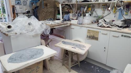 Busy workshop